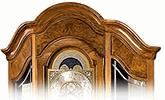 Curio-Cabinet Grandfather Clocks