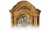 Illuminated Grandfather Clocks