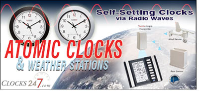 Atomic Clocks & Weather Stations